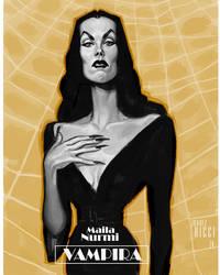 Maila Nurmi  -  Vampira by juarezricci