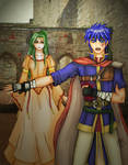 FE: Ike and Princess Elincia