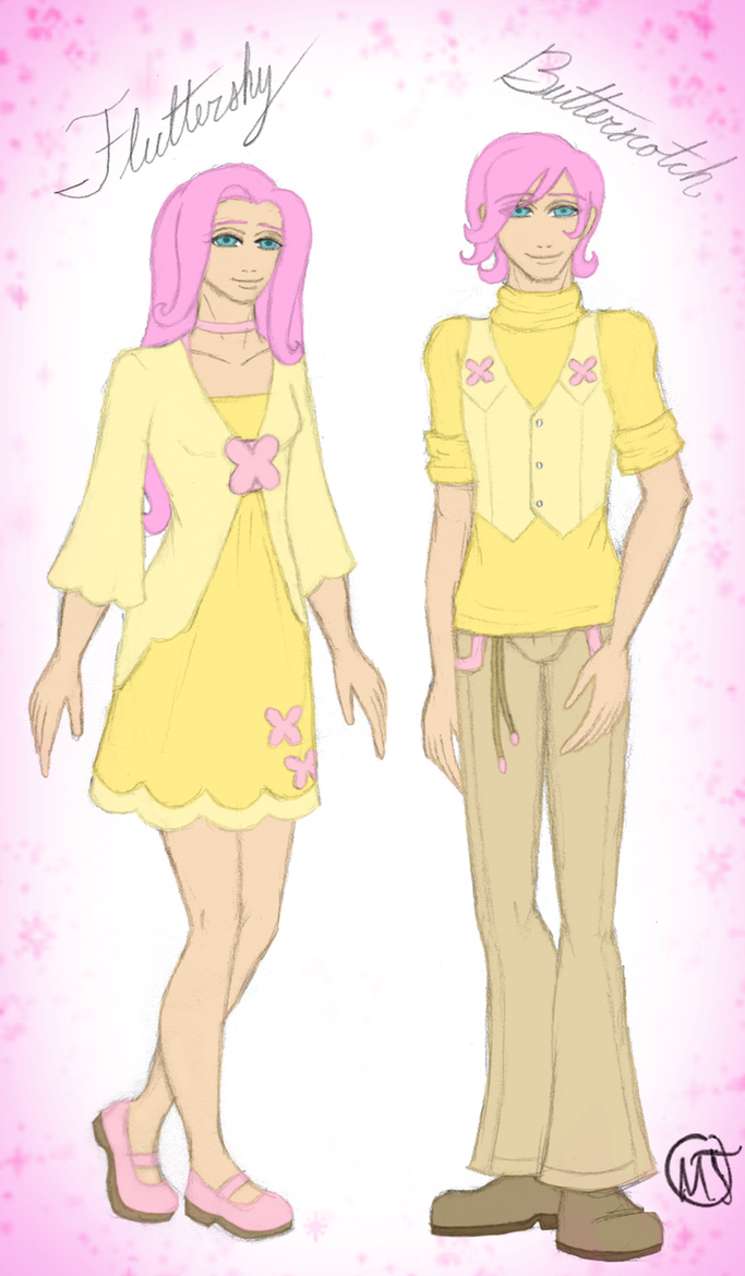 MLP: Fluttershy and Butterscotch by Swag-Thomas-Stroker