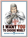 I Want You... to choose wisely