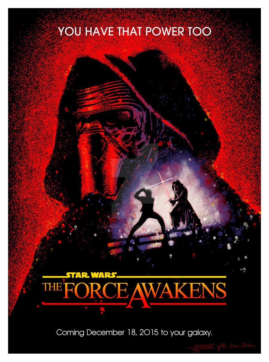 The Force Awakens (Fan Poster)