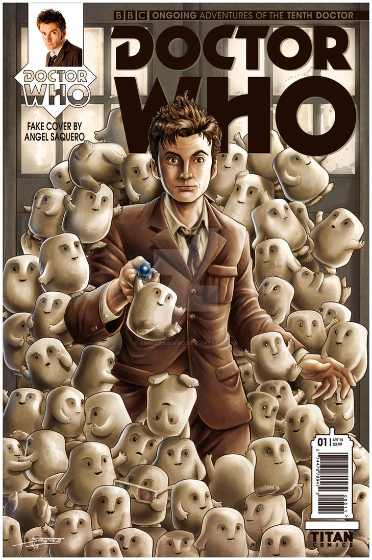 Doctor Who (Fake) Cover by angelsaquero