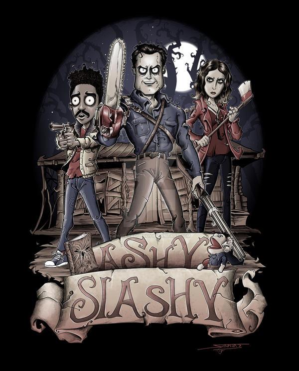 Ashy Slashy by angelsaquero
