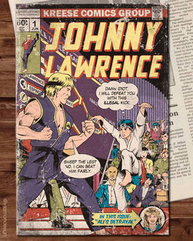 Johnny Lawrence First Issue