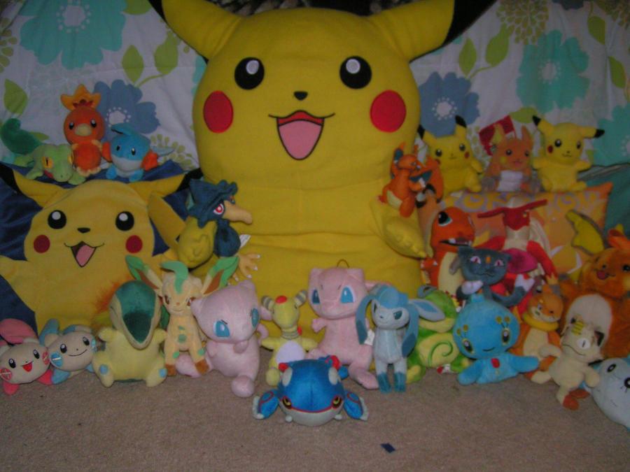 My Pokemon Stuffies 1 By Doryphish333 On Deviantart