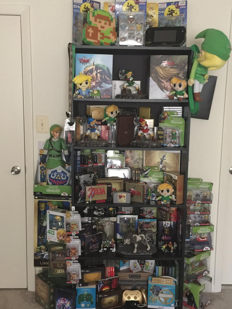 Zelda Collection Update by doryphish333