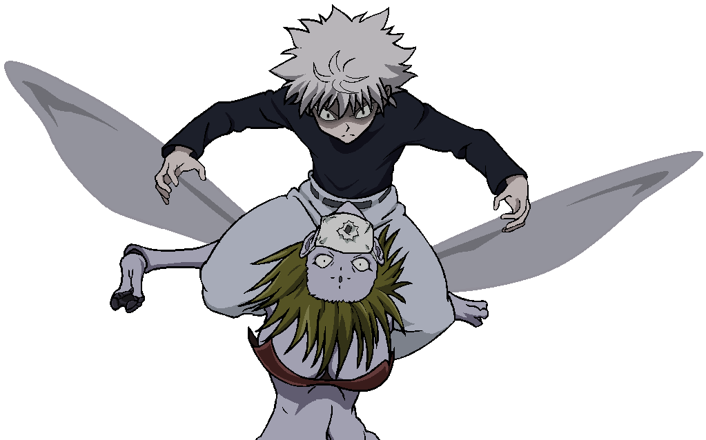 Killua v Mosquito by doryphish333