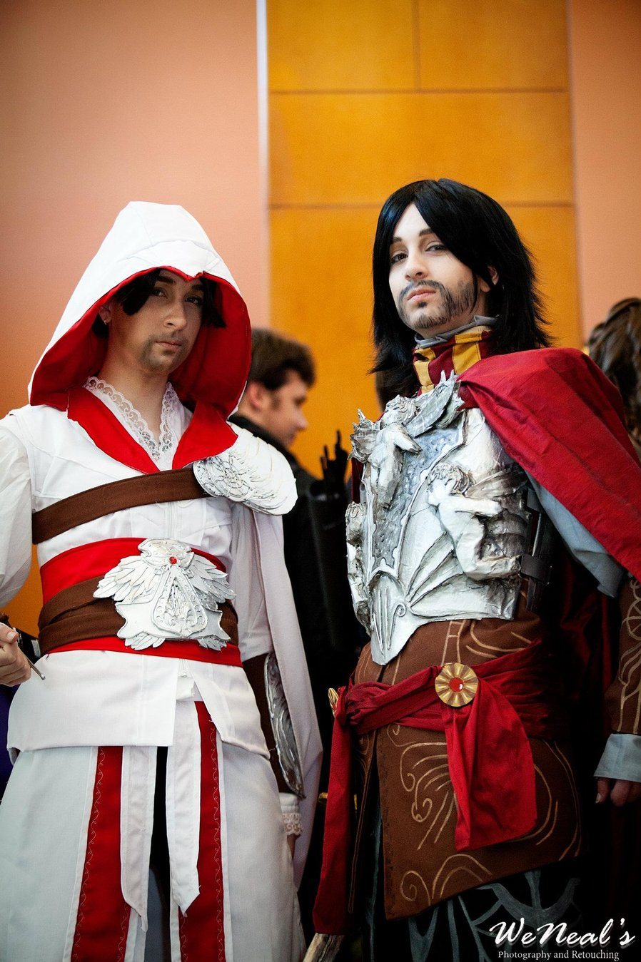 Ezio Auditore And Cesare Borgia Starfest By Morningfutago On