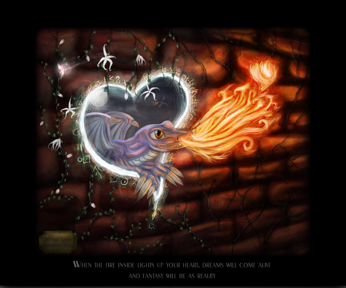 Heart of Fire by lostsanityreturned