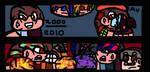 Blue-Eyes/Red-Eyes Origins/Ultimate Exodia Duel by ImmortalDestinyKing