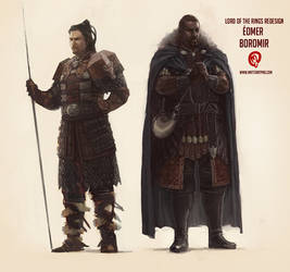 LOTR - Char Redesigns by Changinghand