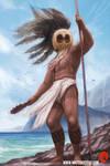 Character Study - Hawaiian Warrior