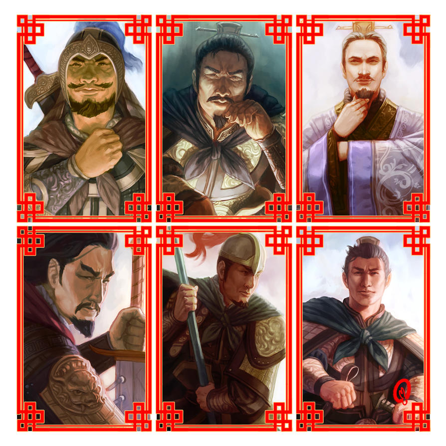 Three Kingdoms - 7 by Changinghand