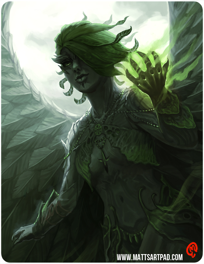 Dark Sylvari by Changinghand