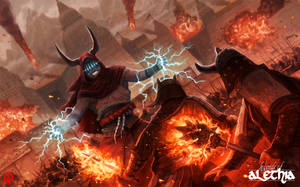 Legends of Alethia - Lithonium Wars by Changinghand