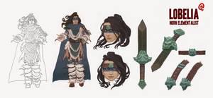 Guild Wars - Lobelia Reference