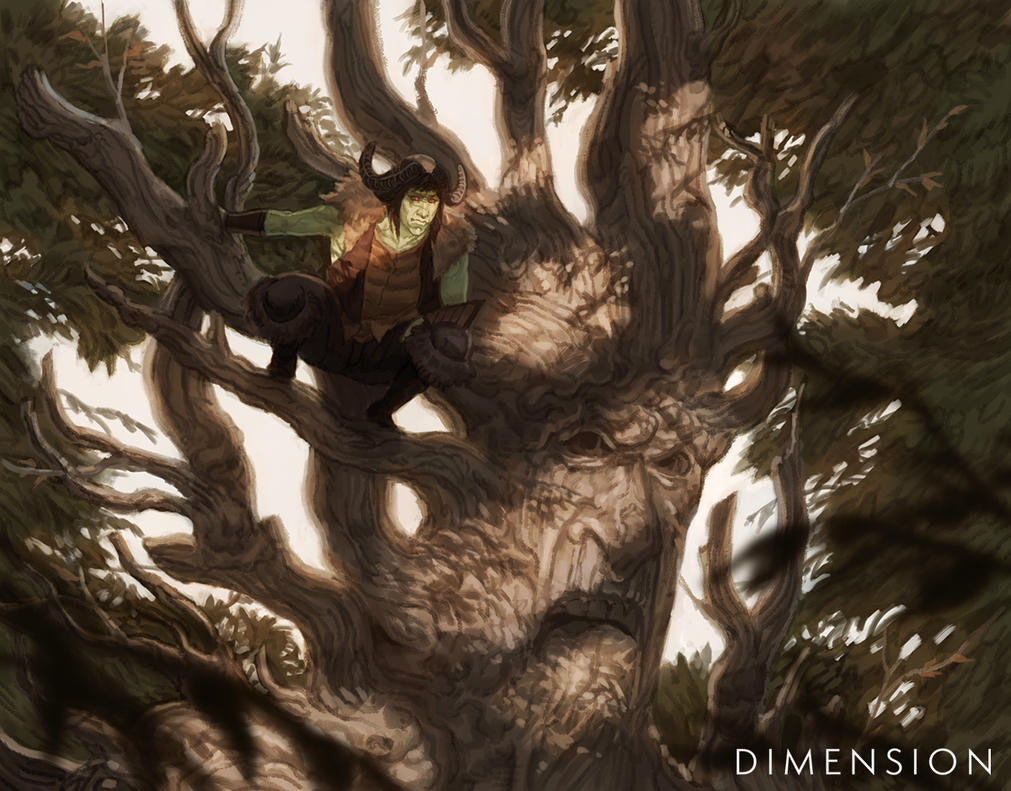 Dimension - Cedel and Olef the Kinfire by Changinghand