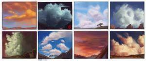 Sketchbook - Clouds