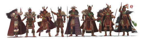 EOSC - Clothing and Armor Lineup by Changinghand