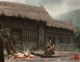 Death of Akechi Mitsuhide