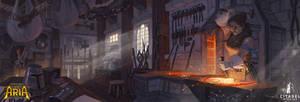 Legends of Aria - Blacksmith