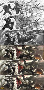 Progress Slides - Boneyard Dragon