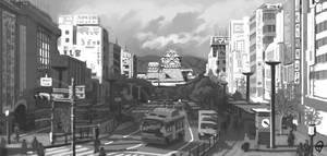 Sketchbook - Himeji Castle