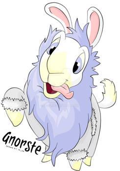Crazy White Gnorbu