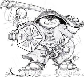 Pandaren Master by wiltonfontes
