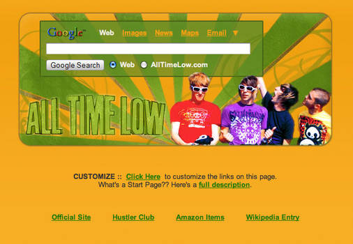 All Time Low Startpage
