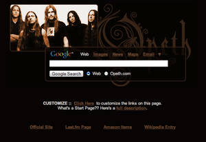 Opeth Startpage
