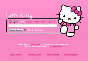 Hello Kitty Startpage