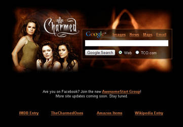Charmed Startpage by AwesomeStart