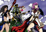 Lightning And Others Final Fantasy XIII01