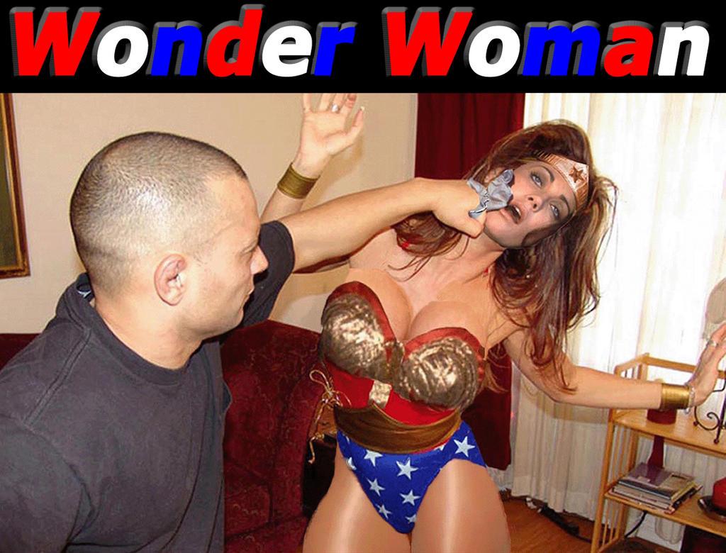 Wonder Woman dominated by zapher22