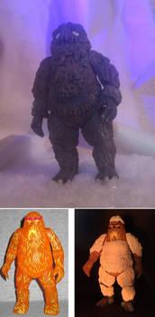 Yeti custom figure - Doctor Who