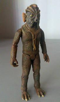 Silurian custom action figure #2 - Doctor Who