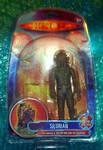 Silurian custom packaging - Doctor Who figure