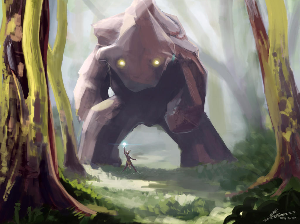 Golem by JarrettOnions