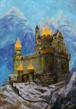 20180404 Flame Castle