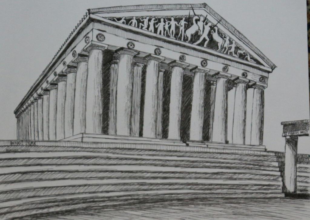 Acropolis - Greek Parthenon by bengiinak on DeviantArt