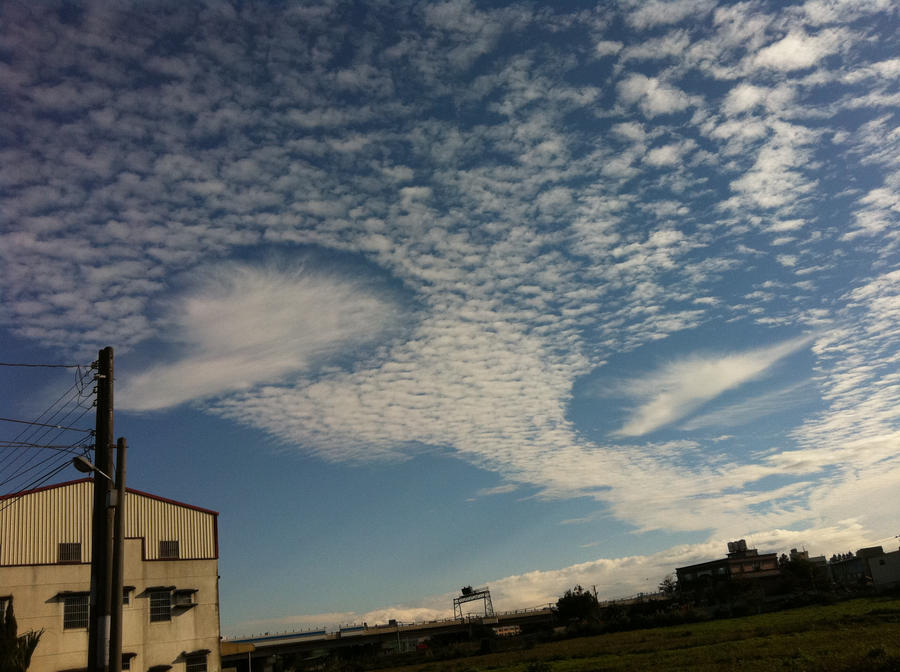 Holes in the sky by cathyss02