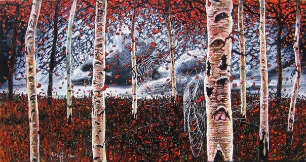 The Birches by montiljo