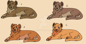 Lions Adoptables [2/4 Open]