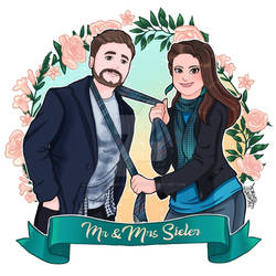 Comission as a wedding gift