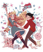 Star Vs. The Forces of Evil by imamong