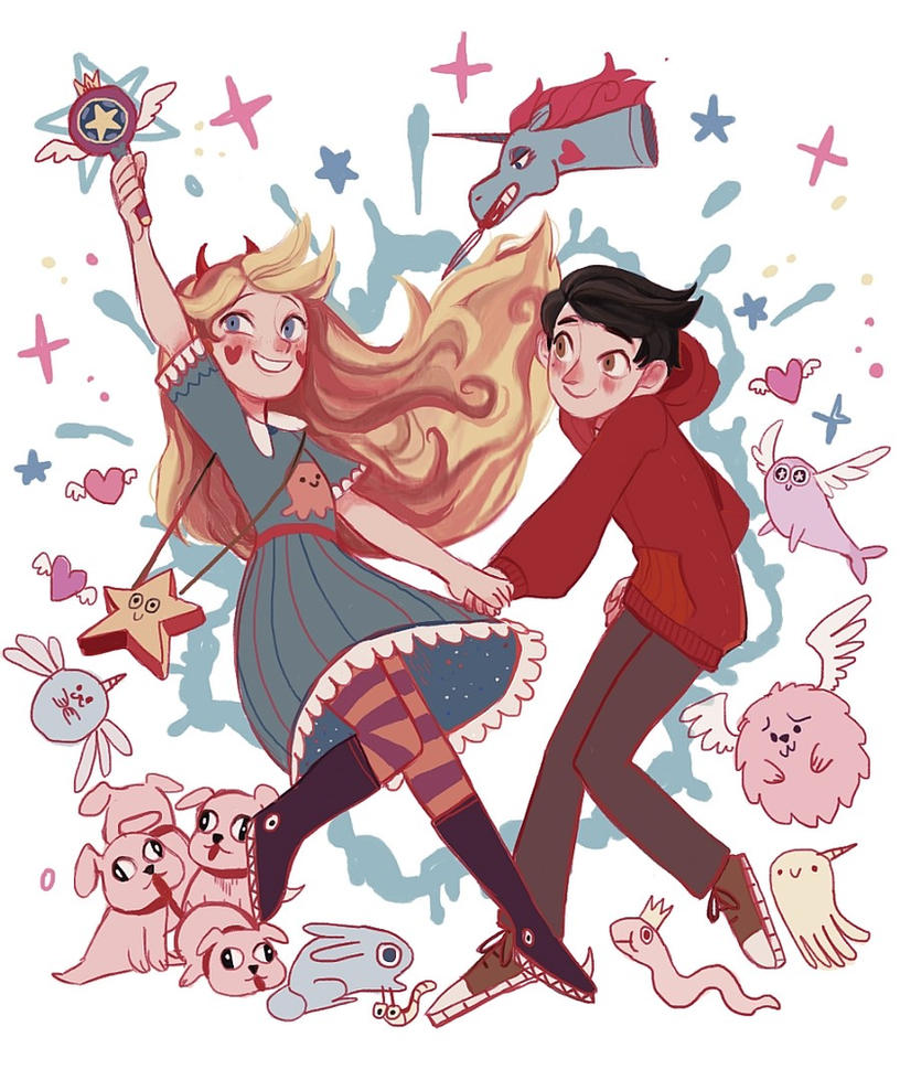 star vs the forces of evil flag day