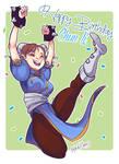Happy Birthday Chun li!