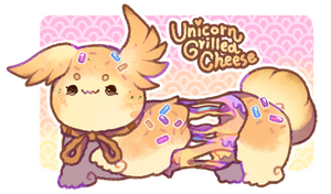 [Closed] Unicorn Grilled Cheese Scribblin