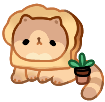 pure bread cat by moonbeani